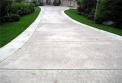 Exposed Aggregate Concrete Broom Finish Contractor