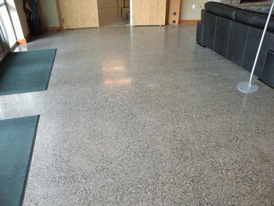 Concrete Polished Floor: Polished Concrete Office